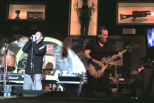 Jayce Lewis rocks at Mumbai's Hard Rock Cafe