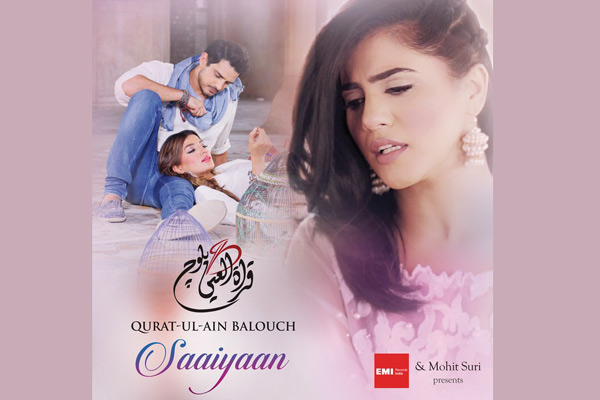 Qurat-Al-Ain Balouch launches Sufi single 'Saaiyaan' with EMI
