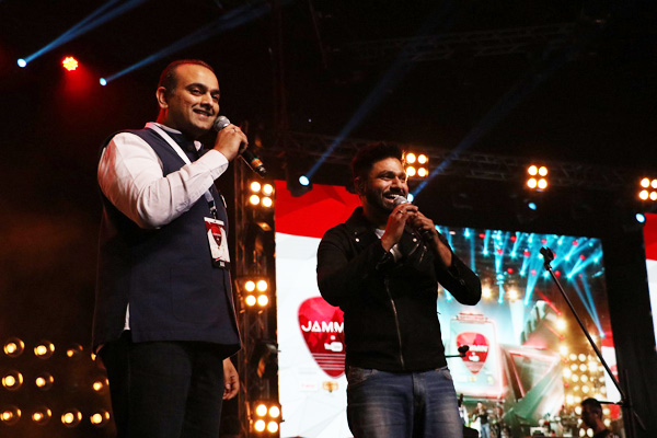 (image: Qyuki MD Samir Bangara with Mithoon)