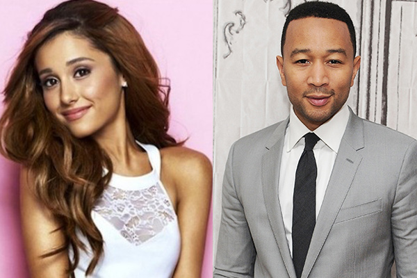 Image result for ariana grande and john legend