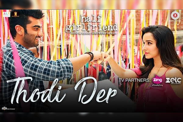 Check Out The Romantic Track Thodi Der From Half Girlfriend