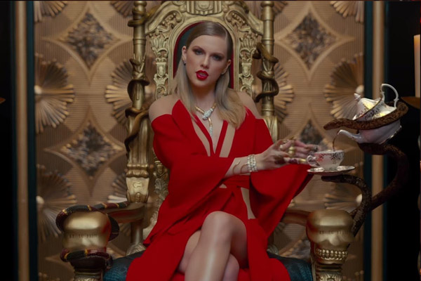Taylor Swift takes on celebrity foes in video