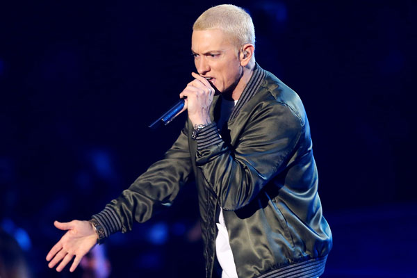 Eminem releases new album 'Revival'