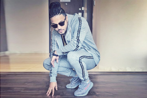 Raftaar S Wife Supports His Experimental Looks Radioandmusic Com