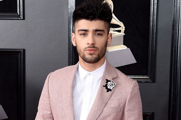 Zayn Malik debuts giant tattoo on the back of his neck