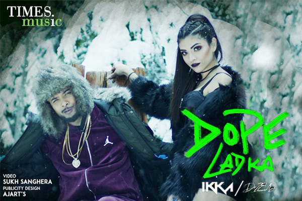 Ikka dropped his new single 'Dope Ladka' | Radioandmusic com