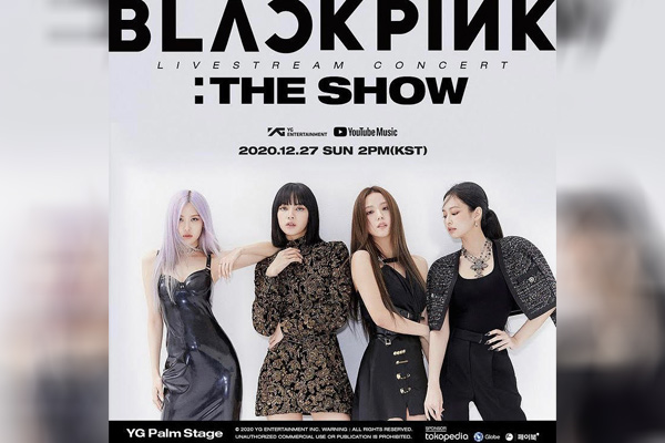 BLACKPINK To Stage Live Stream Concert 'The Show' On December 27