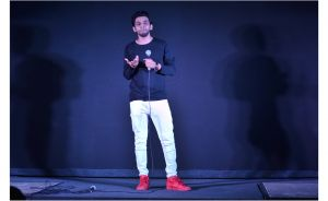Actor Ashrut Jain at the music launch of SMTT