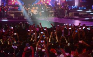 Rock On 2 live concert, Mumbai                                  (Photo Credit : IANS)
