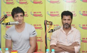 Sonu Sood and Prabhu Deva