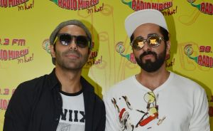 Brothers Ayushmann and Aparshakti Khurrana
