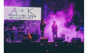 Abish+Kenny's performance on Day 2 of Bacardi NH7 Weekender Pune. Photo Credit - Himanshu Rohilla