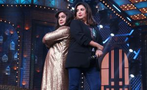 Farah Khan and Ali Asgar
