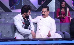 Anchor-Maniesh-Paul-and-Kamal-Haasan-in-a-conversation-on-Indian-Idol-10