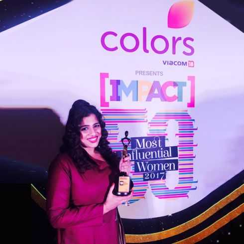Red Fm S Rj Malishka Honoured With Impact S 50 Most