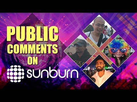 OMG!!! Public Comments On Sunburn 2018