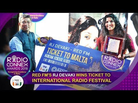 RED FM's RJ Devaki wins ticket to International Radio Festival 2018