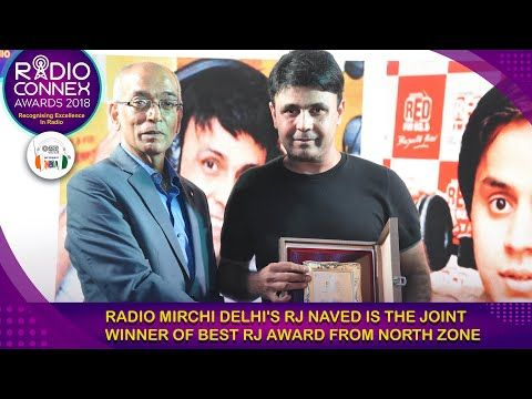 Radio Mirchi's RJ Naved wins Best RJ award from North Zone