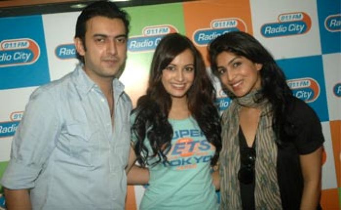 Dia Mirza Plays Love Guru On Radio City 91 1 Fm Radioandmusic Com