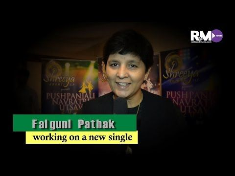 Falguni Pathak working on new single