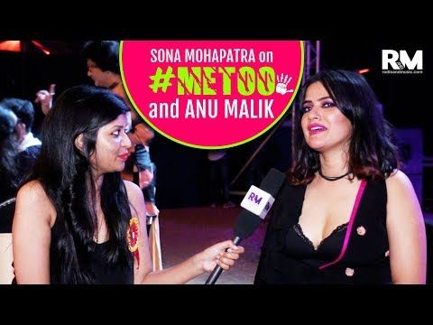 Sona Mohapatra reacts on #MeToo movement and Anu Malik