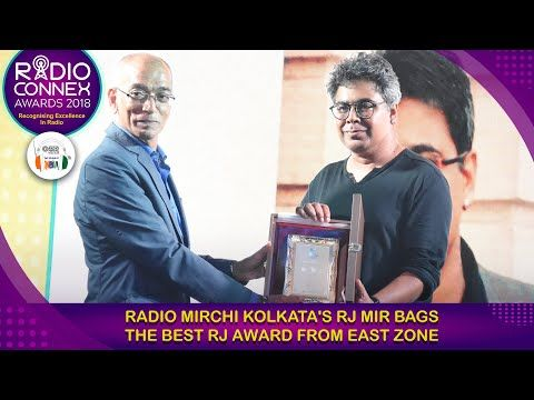 Radio Mirchi Kolkata's RJ Mir bags Best RJ award from East Zone