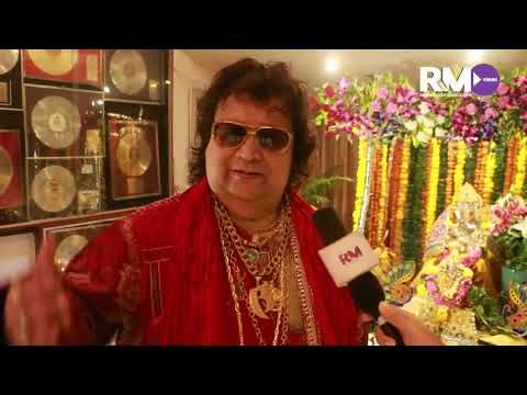 Ganpati at Bappi Lahiri's home