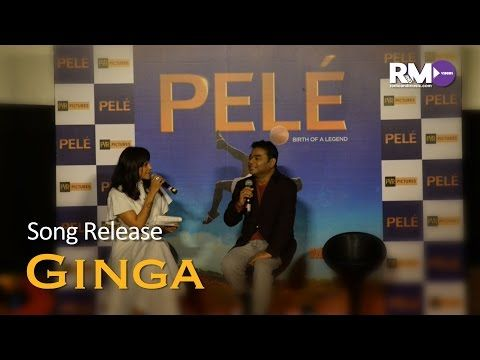 Press Conference: Release of AR Rahman's 'Ginga' from biopic Pele