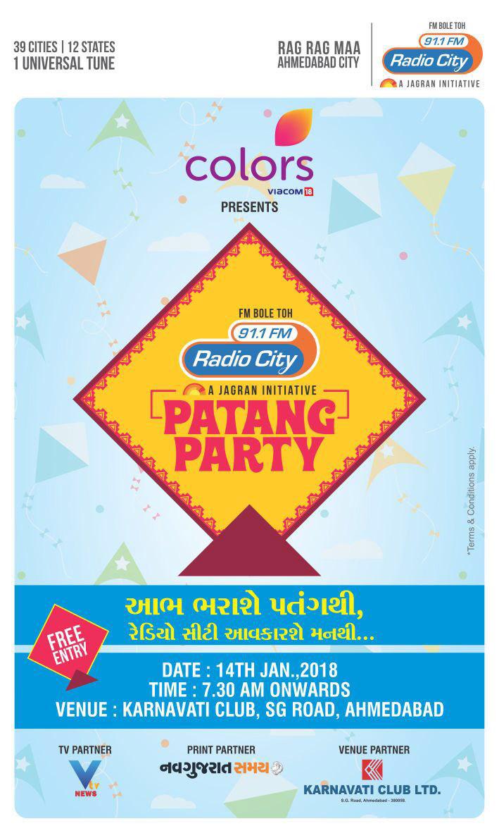 Gujarat radio stations special plans this Uttarayan