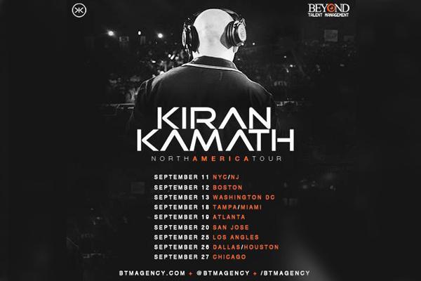 Bollywood Dance Music Tour Featuring DJ Kiran Kamath To