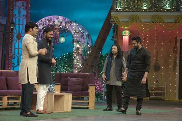 The Kapil Sharma Show' gets Kailash Kher, Mithoon on mutual back