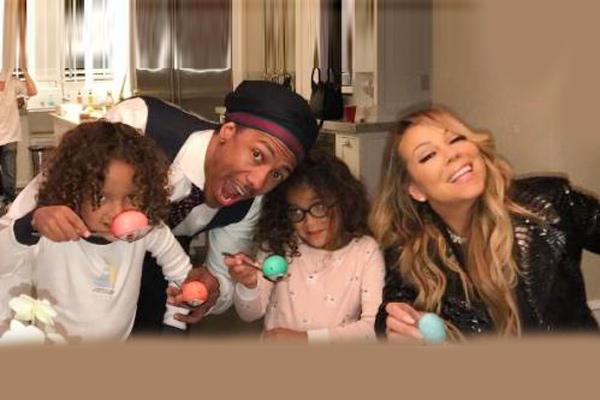 Mariah Carey, Nick Cannon reunite over family dinner ...