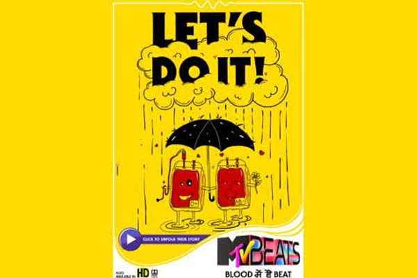 MTV Beats urges people to step up this World Blood Donor Day