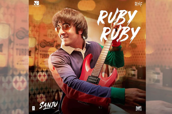 AR Rahman's song 'Ruby Ruby' from an upcoming movie 'Sanju ...