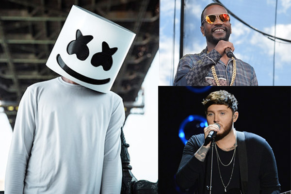 MUMBAI Music Lovers Can Now Sing Along With Their Hands To Electronic Dance Producer And DJ Marshmello Rapper Juicy J Singer James Arthurs Song