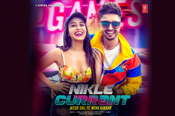Neha Kakkar and Jassi Gill shake a leg in Nikle Currant