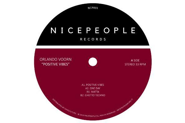 Orlando Voorn drops 'Positive Vibes' EP on NICEPEOPLE