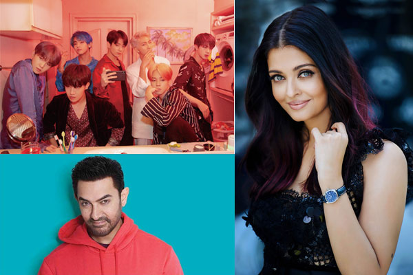 Aishwarya, Aamir and desi food for K-Pop! | Radioandmusic com