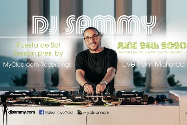 DJ Sammy to present a Live Sunset Session | Radioandmusic.com
