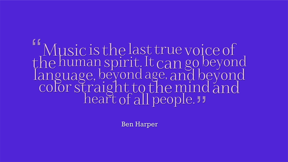 inspirational quotes on music by famous musicians