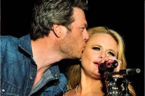 Blake Shelton and Miranda Lambert facebook