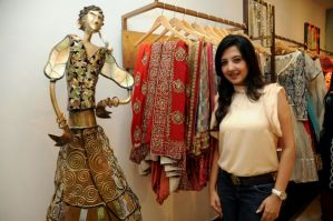Post Event Release - Amy Billimoria dolls up Falguni Pathak this coming Navratri!