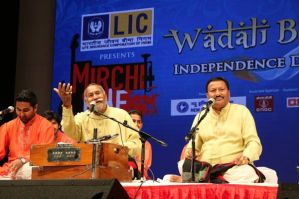 Wadali brothers performing for the Independence Day