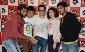 Azhar team at Fever FM
