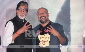 Amitabh Bachchan and Vishal Dadlani