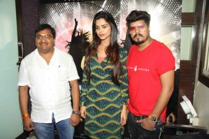 Amrendra Verma (Producer, Agrim Media Entertainment), Model whose featuring in video with Video director Sandy Dhanurdhari at the song recording of album SHAMBO sung by Singer Javed Ali