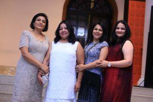 L-R Apurva Purohit- President Jagran Group,Sagorika Kantharia- HR head,Jagran Group,Rachna Kanwar-COO,digital,Deepa Dave