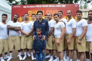 Manoj Bajpayee launches 'Budhia Singh Born To Run' anthem