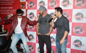 RJ Anurag Pandey ,John Abraham and Varun Dhawan