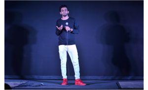 Actor Ashrut Jain at the music launch of SMTT